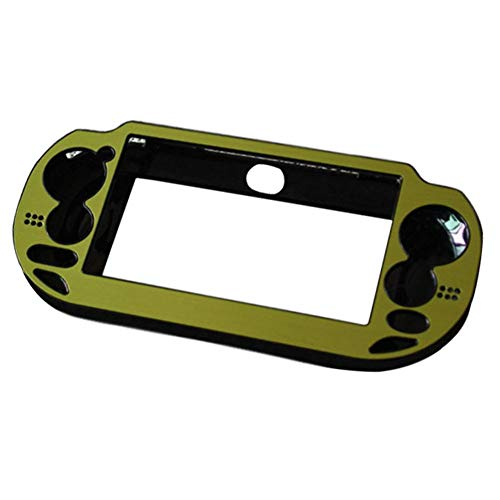 uirend Aluminum Metal Protective - Hard Case Cover for Playstation PS Vita 1000 PSV Console Color Green