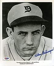 CHARLIE GEHRINGER PSA DNA Coa Autograph 8x10 Photo Hand Signed Authentic