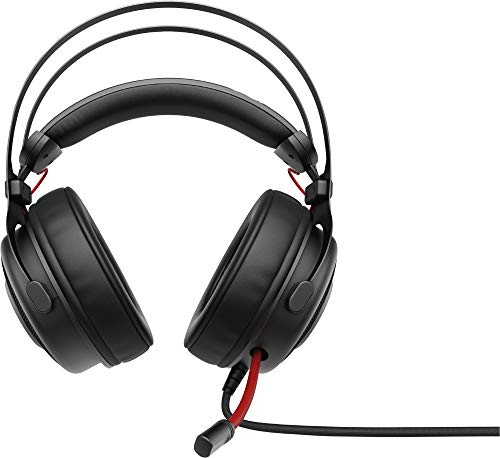 HP Inc. OMEN by HP 800 Headset **New Retail, 1KF76AA (**New Retail Full Size Black)