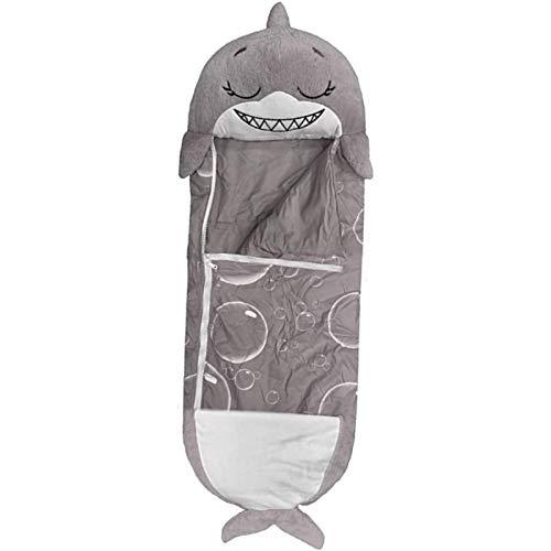 JGXRJLK Happy Kids Nappers Play Almohada, Saco de Dormir para bebés, Saco de Dormir Divertido Saco de Dormir de Animales para niños, Plegable y Suave