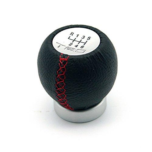 Black HSL 5 Speed TRD Gear Soft Leather Shift Knob Shift Lever