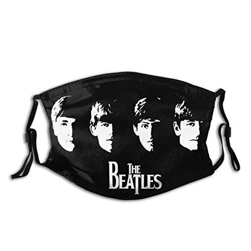 Unisex Adult Beatles Abbey Road Mund Anti-Staub Bandana Winddichter Filter Wiederverwendbare Gesichtsabdeckung Einstellbare Ohrschlaufen-Bea-tlesAb-beyRoad-2-OneSize