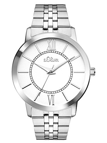 s.Oliver Time Damen-Armbanduhr SO-3352-MQ