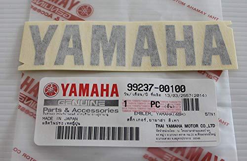 Ganz Neue 100% Original Yamaha Aufkleber Emblem Logo Metallic Dunkel Grau Selbstklebend Motorrad Jet Ski /Atv / Schneemobil