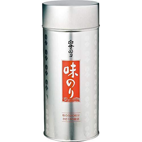 白子のり 丸缶入り味のり 味のり × 味のり丸缶6B