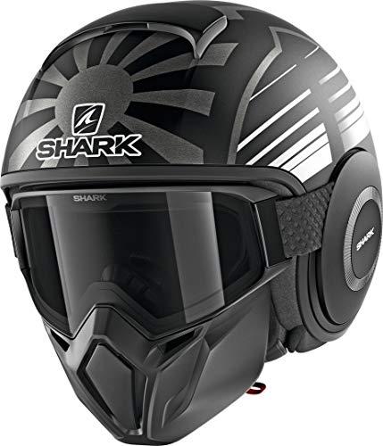 Casco da moto Shark STREET DRAK ZARCO MAL.GP KAA, nero/grigio, L