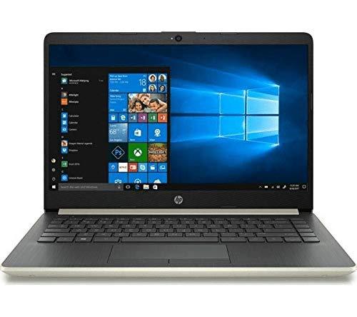 HP 14-CF0500SA 14 inches Laptop - Intel Pentium 4417U 2.3 GHz 4 GB / 128 SSD - Gold (Renewed)