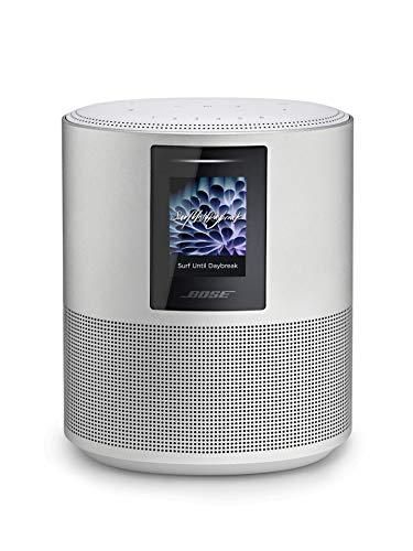 Bose - Home Speaker 500, sonido estéreo con Alexa integrada, plata