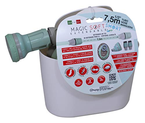 "IDROEASY 2710-Manguera Extensible Magic Soft Smart de 1/2\"" (12,5 mm.) Extensión máx. 7,5 Metros"