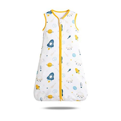 SONARIN Saco de dormir para bebé 0.5 Tog, Manta portátil para saco de dormir para bebé, Verano, Saco de dormir Varios tamaños de 3 meses a 3 años