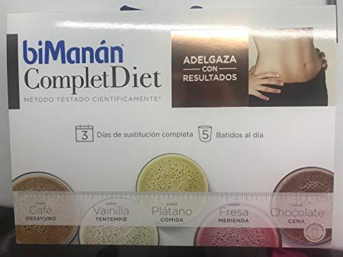 BIMANÁN Complet Diet, Dieta de 3 días de sustitución completa a base de...