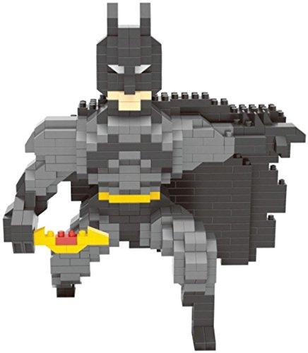 Wise Hawk Figure de Batman pour Monter avec des Petites pièces. 717 Mini-Blocs en Miniature.