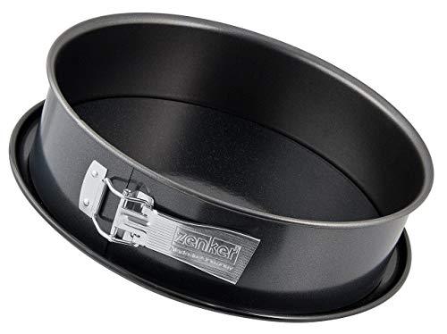 Zenker 7001 Deluxe - Molde para Tartas (28 cm), Color Negro