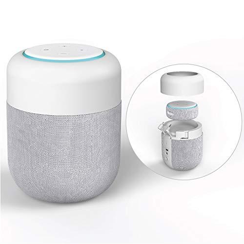 Enceinte Portable pour Echo Dot 3ème Generation (dernier modèle) - Sable (Echo Dot Non Inclus)