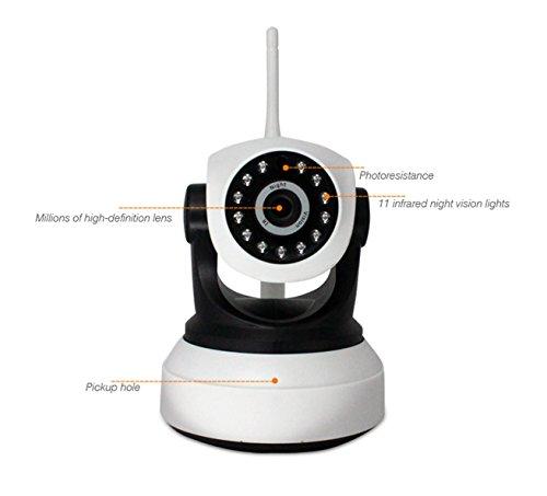 Sicherheitskamera Haust¨¹r / ¨¹berwachungskamera Blutooth/WiFi Kamera/Dome Kamera / ¨¹berwachungskamera Bullet IP Kamera TY-MJ36, Drahtloses Alarmsystem/Netzwerk P2P WiFi IP Kamera