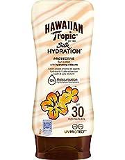 Hawaiian Tropic Silk Hydration Protective Sun Lotion Sonnencreme LSF 30, 180 ml, 1 St