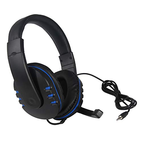 LOVIVER 3.5mm Wired Gaming Headset Headphones with Microphone for PC Laptop Phones