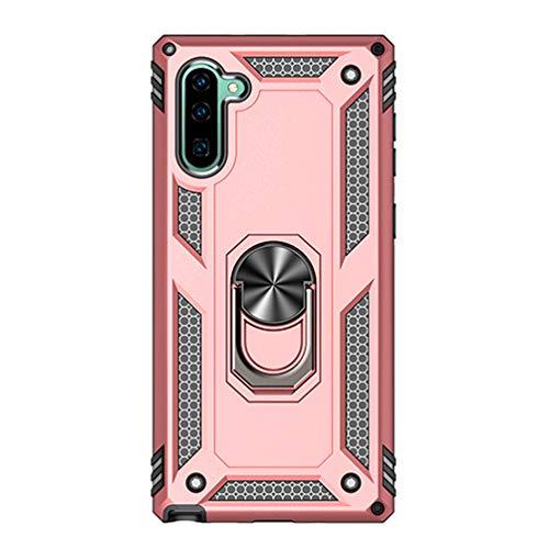 Vogu'SaNa - Funda de Silicona híbrida para Samsung Galaxy Note10 (con Soporte para Coche)