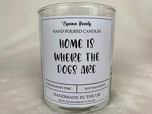 Equinox Beauty Home Is Where the Dogs Are Candle - Vela perfumada (30 cl)