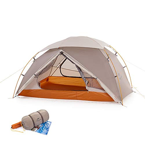N / A 2 Tent Ultra-light Double Resident Tent Camping For Wind Rain Cold And Blizzard Wild Camping Tent