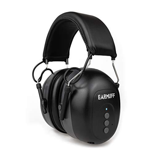 EARMUFF Gehörschutz mit Bluetooth & AUX...