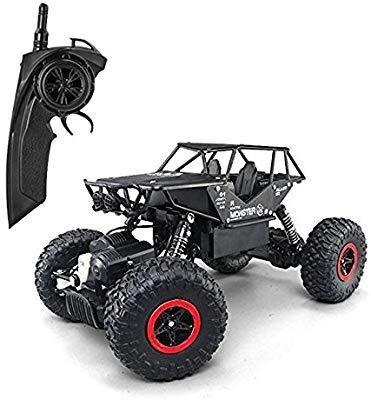 Hela RC Cars 1: 18telecomando fuoristrada Racing veicoli 2.4GHz 4WD radio controllato Trucks High Speed Rock Crawler elettrico Buggy, Nero