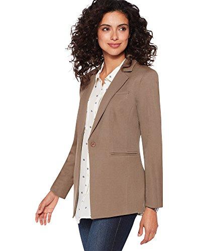 Pendleton Women's Seasonless Wool Blazer, 6 Petite, Sandstone