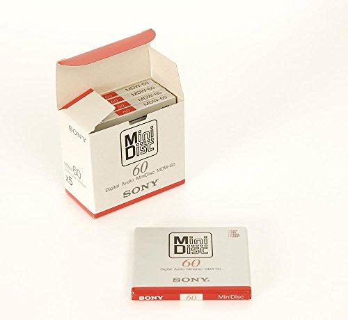 Sony MDW-60 5er Set Minidisc NEU!