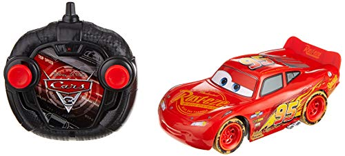 Dickie Toys 203084015 - Cars RC Beach Lightning Mcqueen, ferngesteuertes Spielzeugauto, 1:24