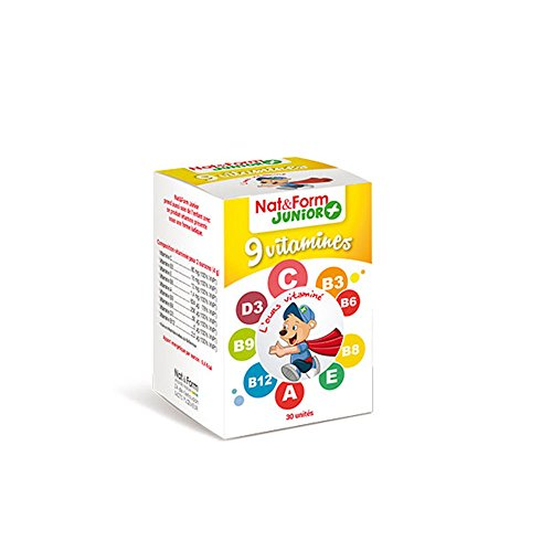 Nat & Form - Ours+ Complexe Vitamine 30 gommes Pour Enfants Nat & Form