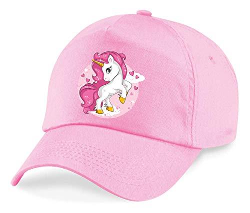 Cap - Zauberkerl Einhorn Pink Herz - Basecap für Herren - Damen und Kinder