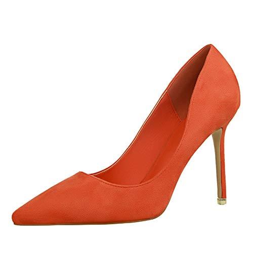 Wildfire Vine Zapatos de Stilettos Tacónes Moda Sexy con Punta Cerrada para Mujer