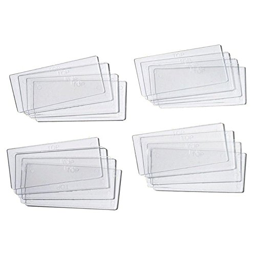 Stack-On Drawer Dividers 4-1/4 ' H X 2 ' Clear Carded