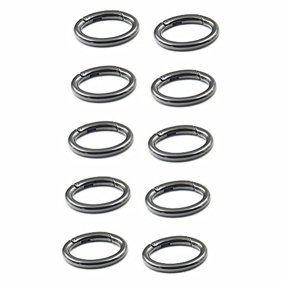 WEICHUAN 10PCS Spring Clip Round Carabiner- 1-1/4
