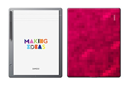 Wacom Bamboo Slate Smartpad Digital Notebook, Large (A4/ Letter Size), Red Pixel Limited Edition (Best Drawing App For Wacom)