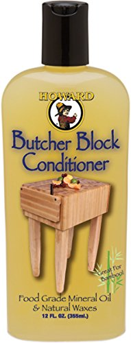 Howard BBC012 12 Oz Butcher Block Conditioner