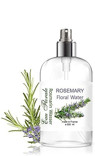 Rosmarinhydrolates Pure Rosmarinwasser Hydrolat Wasserdampf Destillat Gesichtswasser antibakteriell Haar Spray 500 ml