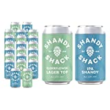 Shandy Shack | Craft Beer Shandy | Lower Alcohol, Vegan, Gluten-Free, Natural Ingredients • Mixed Case (24 x