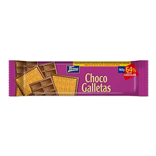 Tirma Chocogalletas Chocolate Con Leche 160g