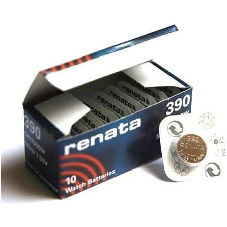 Renata 390 - Batería para Monedas de Litio (1 Unidad, Fabricado en Suiza)