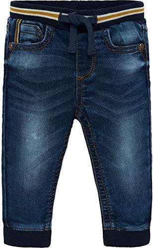 Mayoral baby jongens jeans broek met slipband jogg pant
