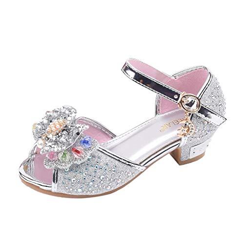 Zylione 760-2 Kinder Mädchen beugen Perlen Strass Latin Tanzschuhe Prinzessin Schuhe einzelne Schuhe cool Schuhe