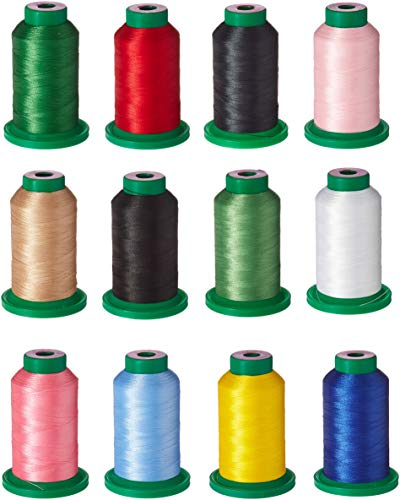 Isacord Thread Basic 12 Gewinde Dose