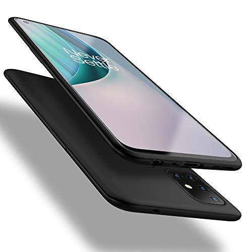 X-level OnePlus Nord N10 5G Hülle, [Guardian Serie] Soft Flex Silikon Premium TPU Echtes Handygefühl Handyhülle Schutzhülle für OnePlus N10 5G Hülle Cover - Schwarz