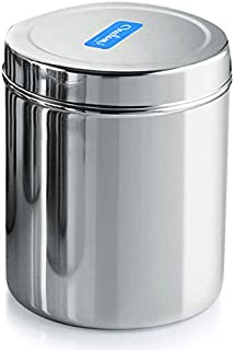 neelam Stainless Steel Deep Dabba- 13800 ml, 1 Pieces,Silver