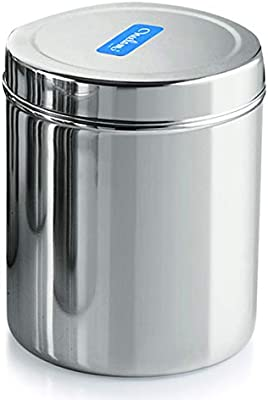 Neelam Stainless Steel 22 22G Deep Dabba, 13800 ml, Silver