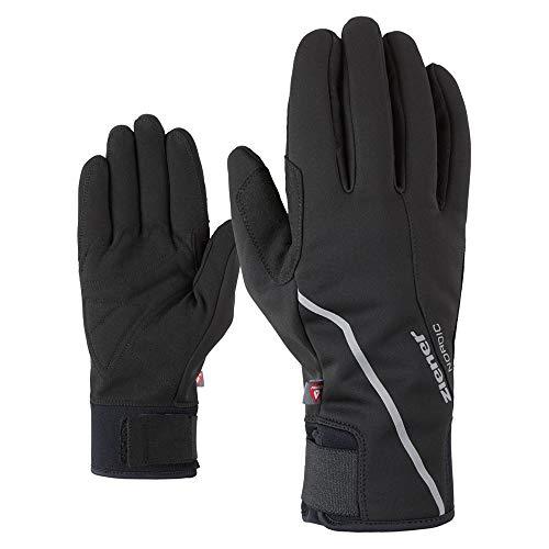 Ziener Herren ULTIMO Langlauf/Nordic/Crosscountry-Handschuhe   Winddicht, atmungsaktiv, gefüttert, Black, 7