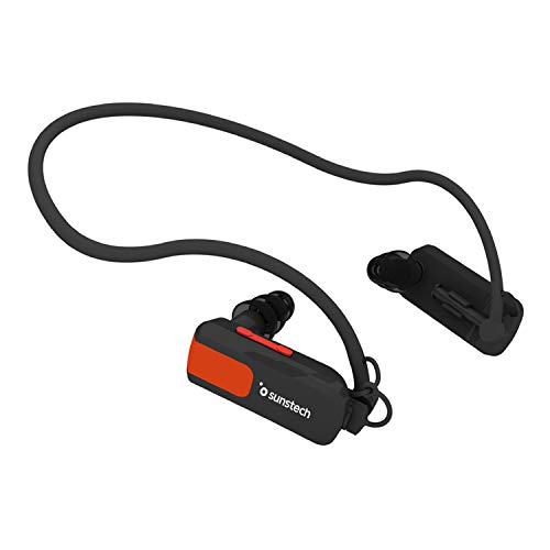 Sunstech TRITON4GBBLACK - Reproductor de MP3, resistente al agua, (4 GB de capacidad), color negro