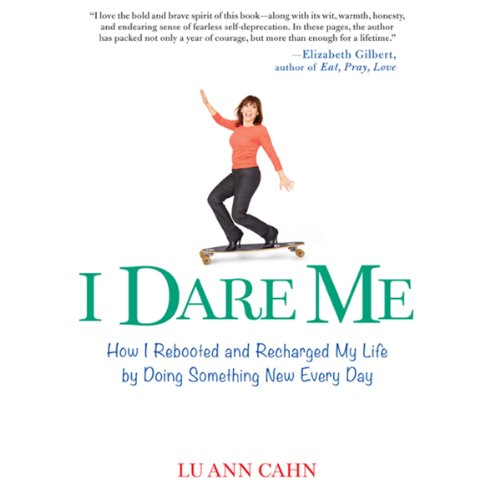 I Dare Me audiobook cover art