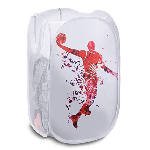 Basketball Mesh Pop-up Laundry Hamper